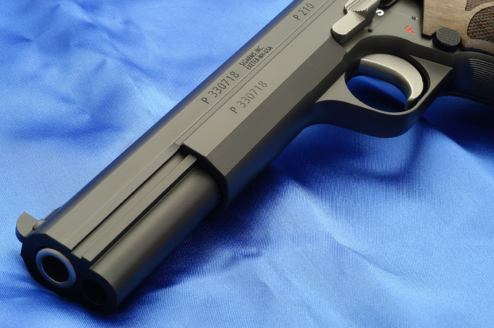 SIG P210-5 Long Slide by Ken Lunde